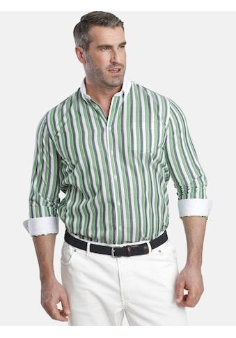 Charles Colby Langarmhemd »DUKE ELLIOT«, mit aufgesetztem Kragen in uni kaufen