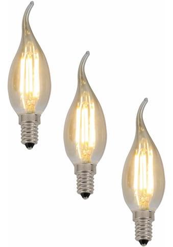 näve LED-Leuchtmittel »LED Leuchtmittel E14 Kerze«, E14, 3 St., Warmweiß, Set - 3 Stück kaufen