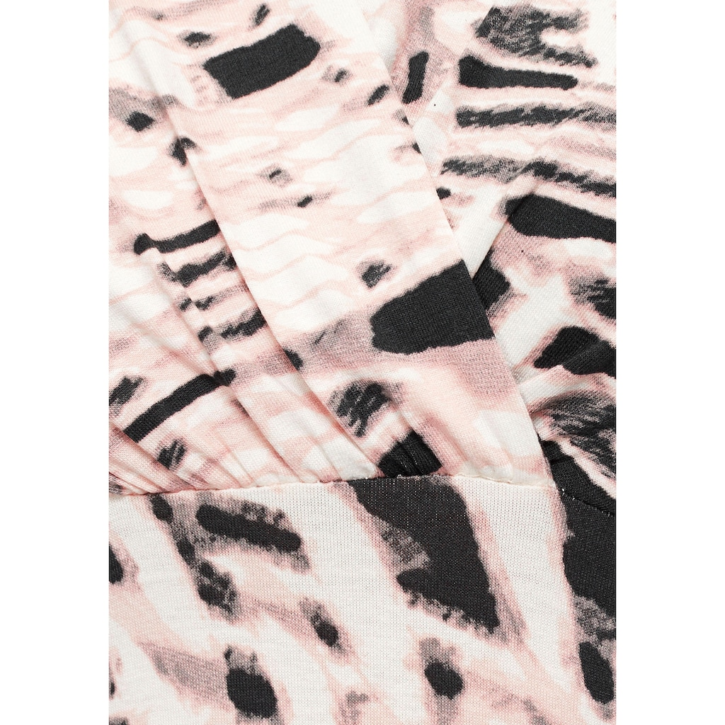 Boysen's Jerseykleid, mit schönem Druck