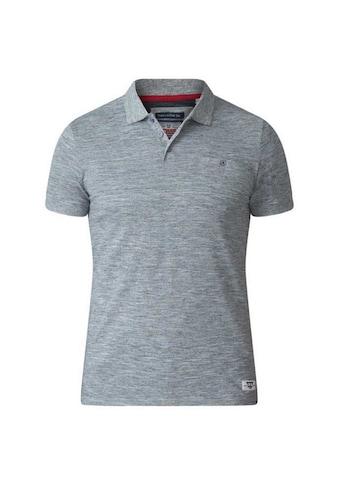 Duke Clothing Poloshirt »Herren Pique- Dunstan Kingsize D555« kaufen