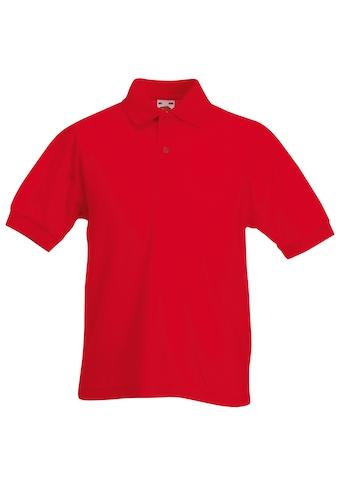 Fruit of the Loom Poloshirt »Kinder Polo Shirt, Kurzarm« kaufen