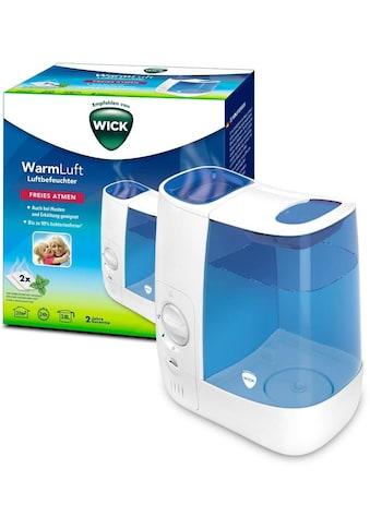 WICK Luftbefeuchter »WH845 Warmluft-Befeuchter«, 3,8 l Wassertank, bis zu 99 %... kaufen