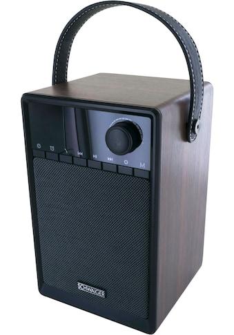 Schwaiger Radiowecker Bluetooth UKW FM Radio Wecker Lautsprecher AUX »Musik Box USB, micro SD« kaufen