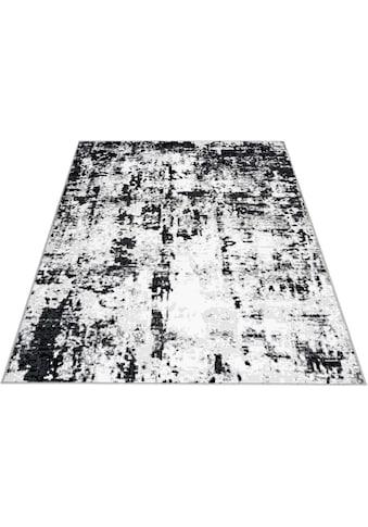 Bruno Banani Teppich »Aven«, rechteckig, 10 mm Höhe, Vintage Design, Wohnzimmer kaufen