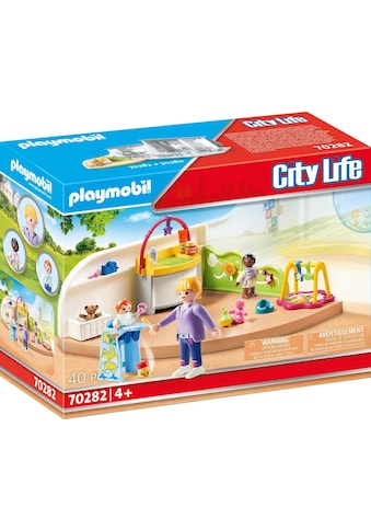 Playmobil® Konstruktions-Spielset »Krabbelgruppe (70282), City Life«, ; Made in Germany kaufen