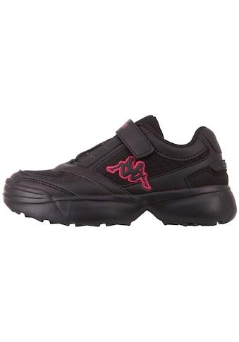 Kappa Sneaker »KRYPTON OC KIDS«, praktisch: Elastikschnürung & Klettverschluss kaufen