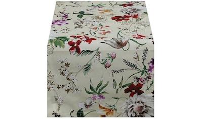 HOSSNER - HOMECOLLECTION Tischläufer »Floral« kaufen