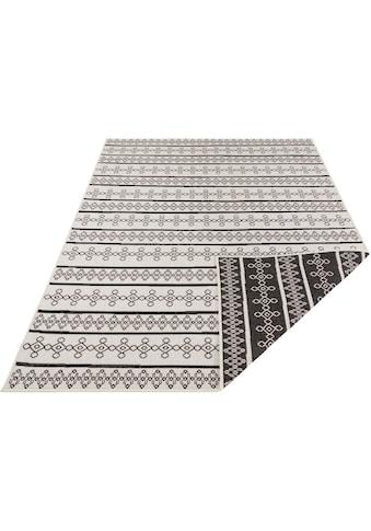 bougari Teppich »Madeira«, rechteckig, 15 mm Höhe, In- und Outdoor geeignet, Wendeteppich, Wohnzimmer kaufen