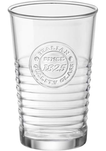 van Well Gläser-Set »Officina«, (Set, 6 tlg.), Mit schönem Relief-Design kaufen