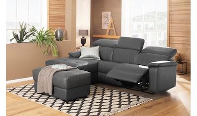Home affaire Ecksofa »Binado«, Wahlweise mit manueller oder elektrischer Relaxfunktion... kaufen