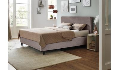 JETTE Betten Boxspringbett »Basis #101 Straight«, einteilige Matratze, 140 cm kaufen