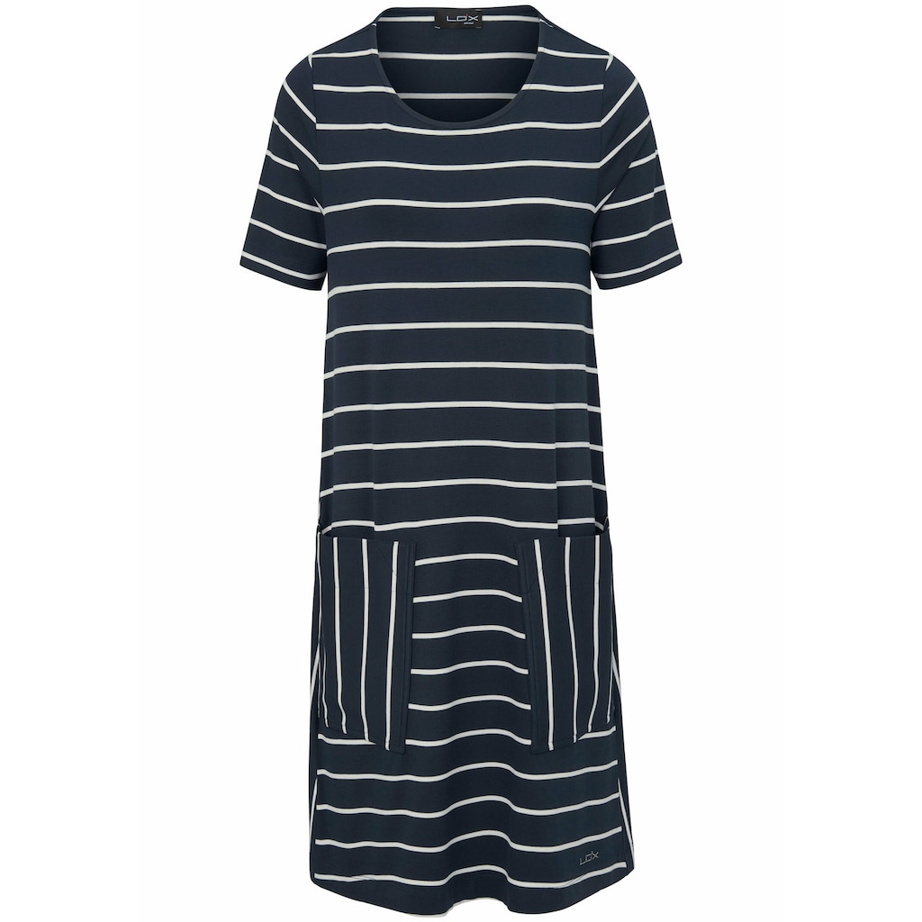 Looxent Jerseykleid »Jersey-Kleid mit 1/2-Arm«, Einsätze