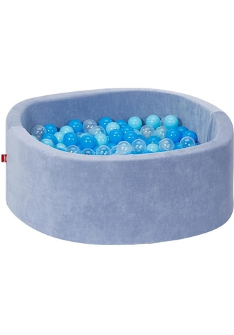 Knorrtoys® Bällebad »Soft, blue«, mit 300 Bällen soft blue/blue/transparent; Made in... kaufen
