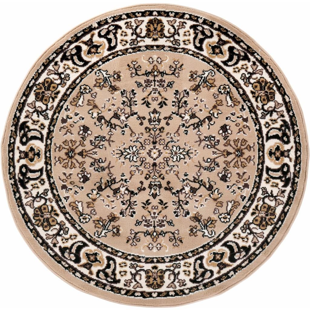 Andiamo Teppich »Orient«, rund, 10 mm Höhe, Orient-Optik, Wohnzimmer