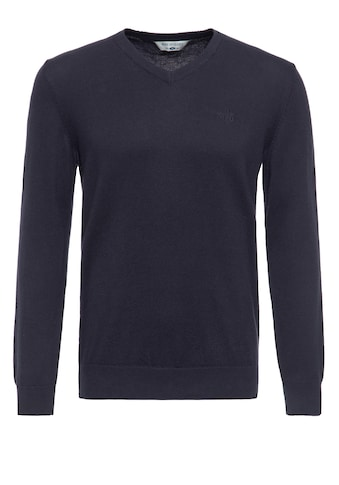 Way of Glory V-Ausschnitt-Pullover, mit dezenter Logo-Stickerei auf der Brust kaufen