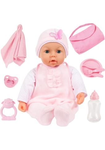 """Bayer Babypuppe """"Piccolina Magic Eyes, rosa"""" (Set, 9 - tlg.) kaufen"""