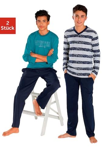 le jogger® Pyjama (2 - tlg., 2 Stück) kaufen