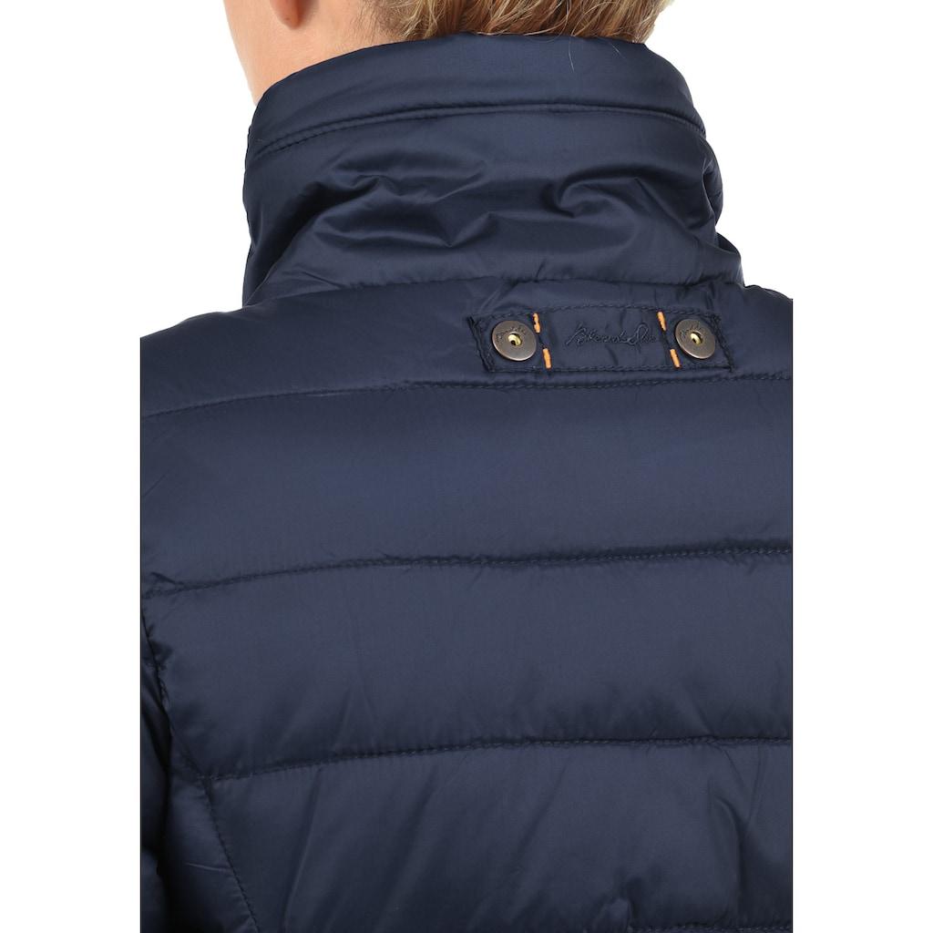 Blendshe Steppmantel »Carlotta«, Mantel mit verlängerter Rückenpartie
