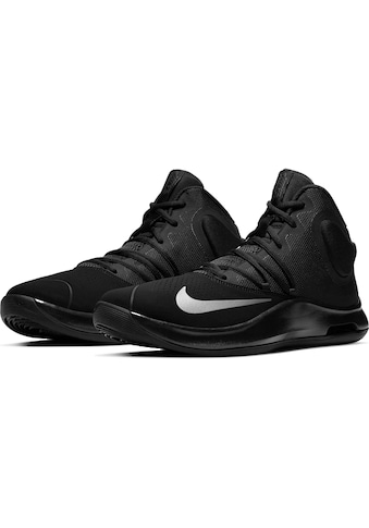 Nike Jungen Priority Low PS Basketballschuhe Rot (Schwarz