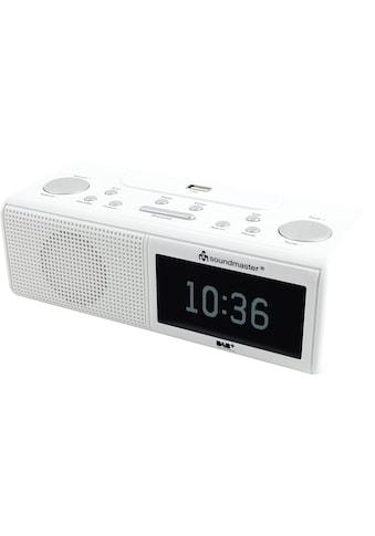 Soundmaster Uhrenradios »UR8350WE« kaufen