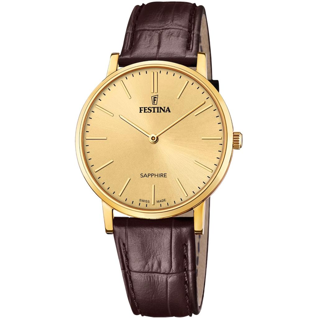 Festina Schweizer Uhr »Festina Swiss Made, F20016/2«