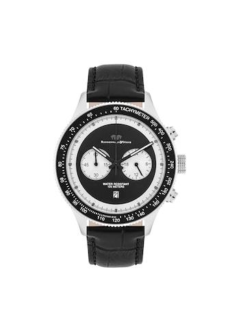 Rhodenwald & Söhne Chronograph »RWS024«, (1 tlg.), Armband aus Echtleder kaufen