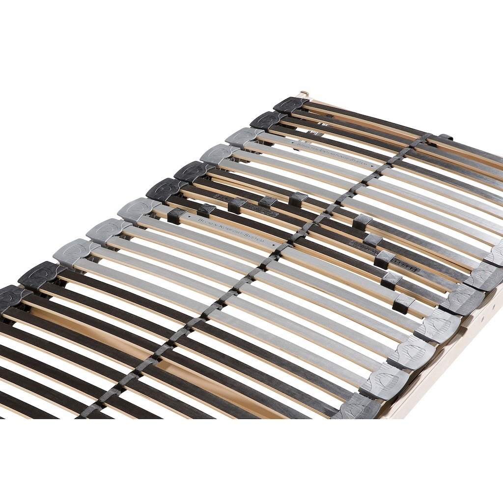 BeCo EXCLUSIV Lattenrost »Comfort Gasdruckfeder«, 28 Leisten, Kopfteil manuell verstellbar, mit Bettkastenfunktion und spez. Schulterzone