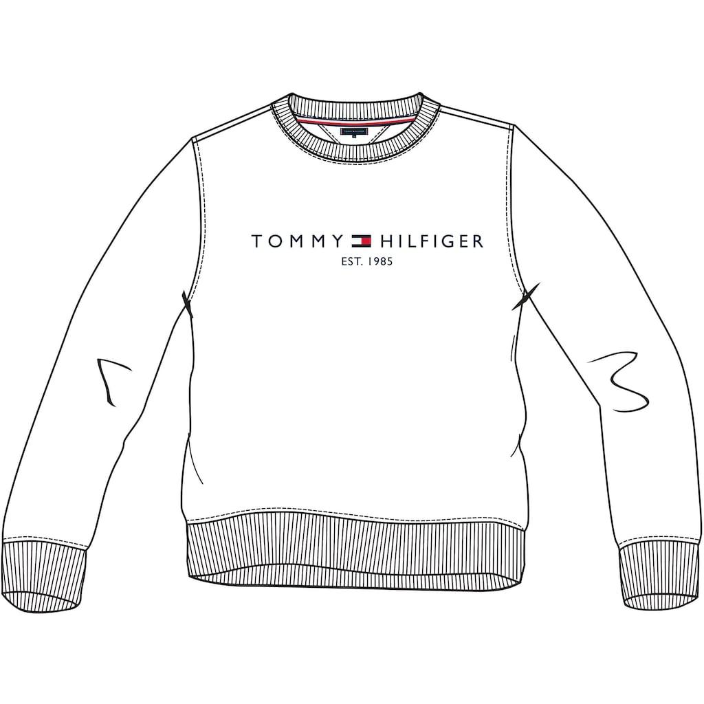 Tommy Hilfiger Sweatshirt »TOMMY LOGO SWEATSHIRT«