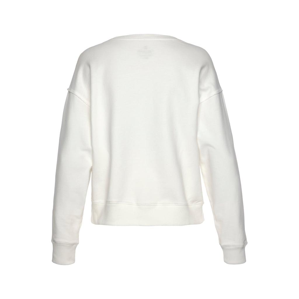 Herrlicher Sweatshirt »CARRIE«, mit Logo-Statement-Print