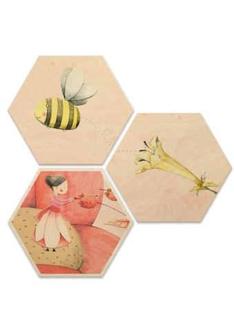 Wall-Art Mehrteilige Bilder »Däumelinchen Kinderzimmer Set«, (Set, 3 St.) kaufen