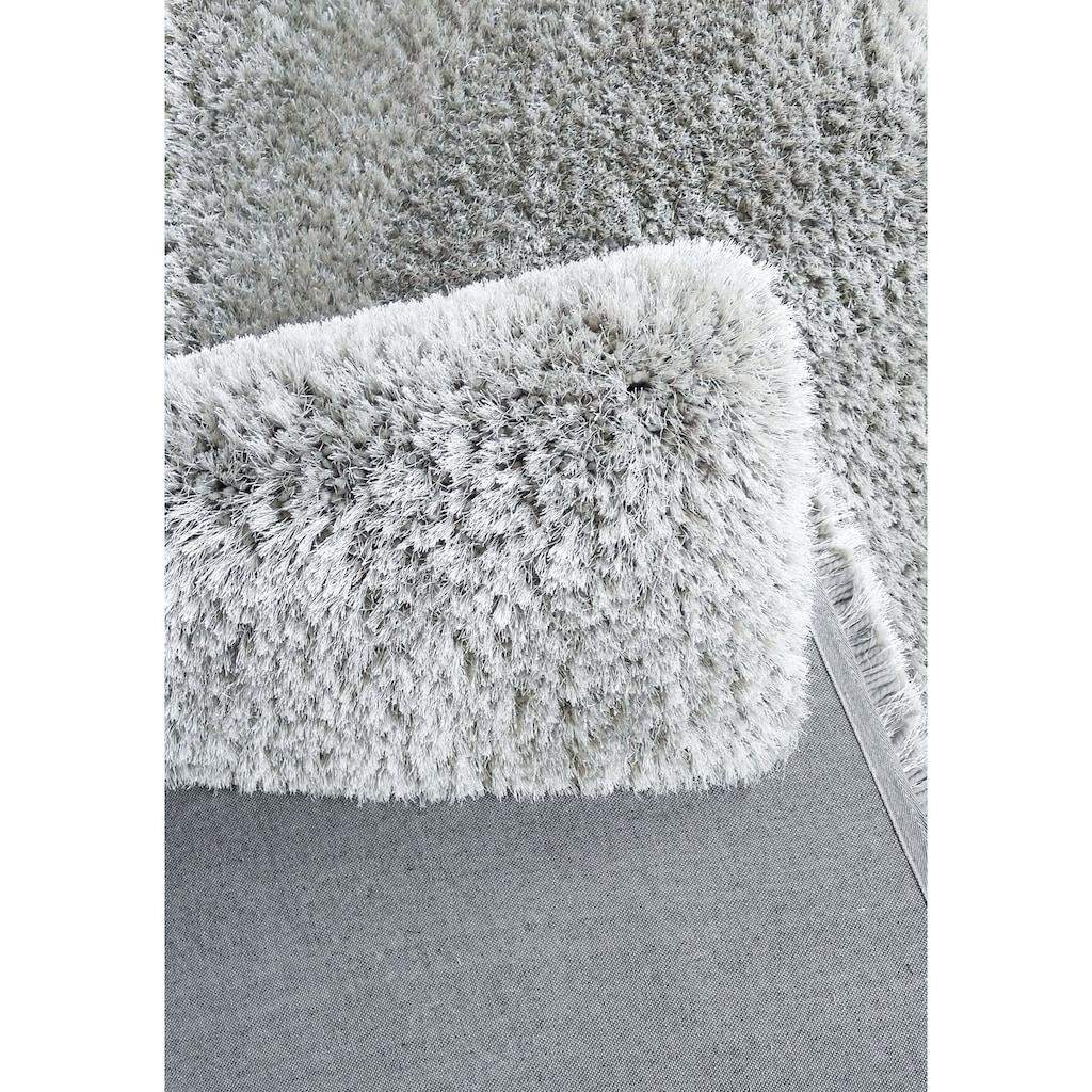Leonique Hochflor-Teppich »Lasse«, rechteckig, 76 mm Höhe, besonders weich durch Microfaser, Wohnzimmer