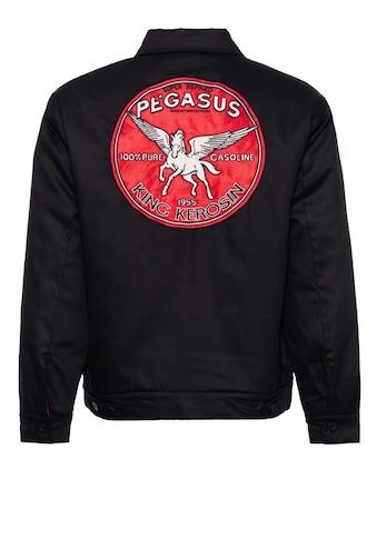 KingKerosin Collegejacke »Pegasus«, mit isolierendem Steppfutter und Stickerei im Rücken kaufen