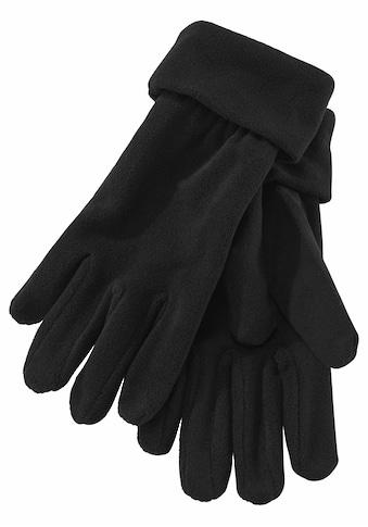 J.Jayz Fleecehandschuhe, aus Fleece mit Gummizug kaufen