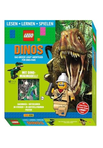 Buch »LEGO®: Dinos Das große LEGO® Abenteuer für Dino-Fans (Lesen, Lernen, Spielen) / DIVERSE« kaufen