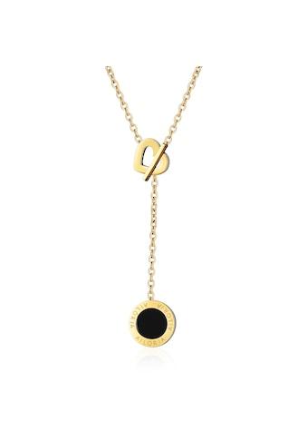 AILORIA Kette mit Anhänger »AMANDINE Halskette Gold«, Hochglanz-Finish kaufen