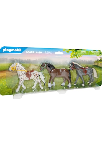 Playmobil® Konstruktions-Spielset »3 Pferde (70683), Country«, Made in Europe kaufen