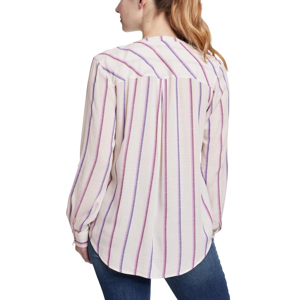 Eddie Bauer Longbluse, Rivierah Shirt - langarm mit Y-Ausschnitt
