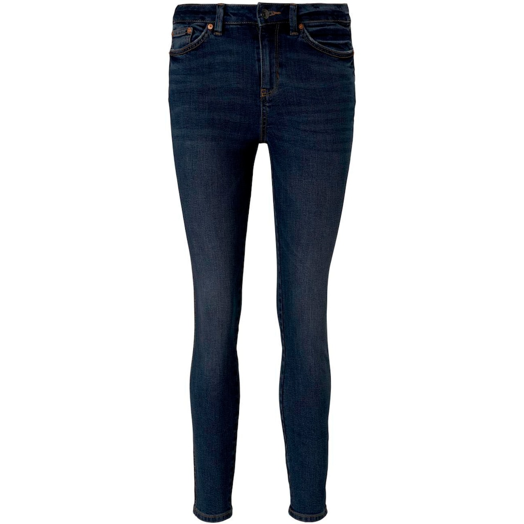 TOM TAILOR Denim Skinny-fit-Jeans, mit modernen Washed-Effekten