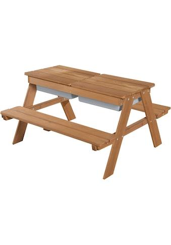 roba® Kindersitzgruppe »Outdoor Deluxe mit Spielwannenm Teakholz«, (Set, 1 tlg.) kaufen