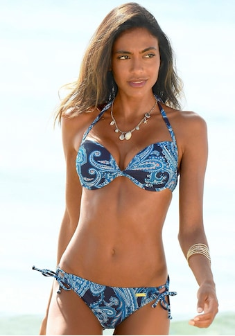 LASCANA Bikini-Hose »Boho«, mit Paisleymuster und seitlich zu binden kaufen
