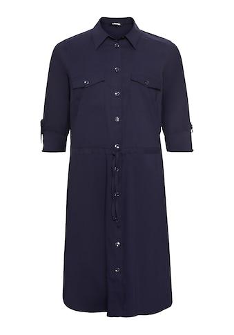Olsen Blusenkleid, mit Tunnelzug und Gürtelband auf Hüfthöhe kaufen