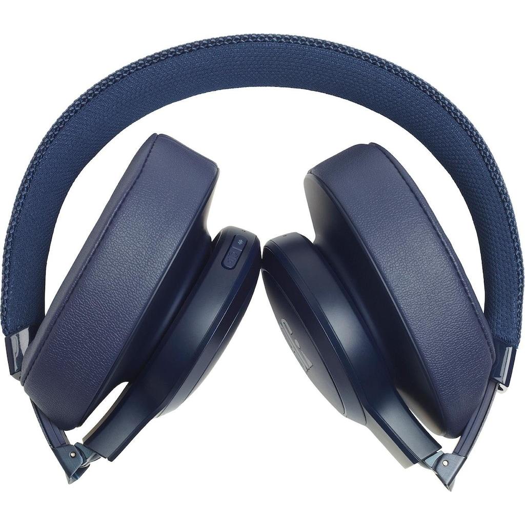 JBL Over-Ear-Kopfhörer »LIVE 500 BT«, Bluetooth, Freisprechfunktion-Sprachsteuerung-Multi-Point-Verbindung-kompatibel mit Siri, Google Now