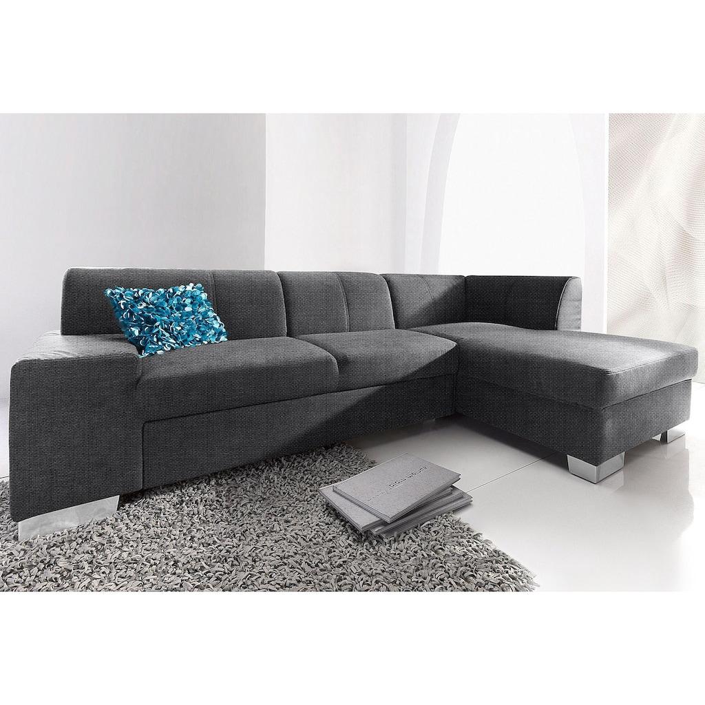 DOMO collection Ecksofa »Star«, wahlweise mit Bettfunktion
