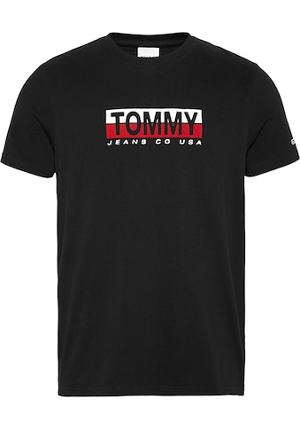 TOMMY JEANS T - Shirt »TJM TOMMY CONTRAST BOX TEE« kaufen