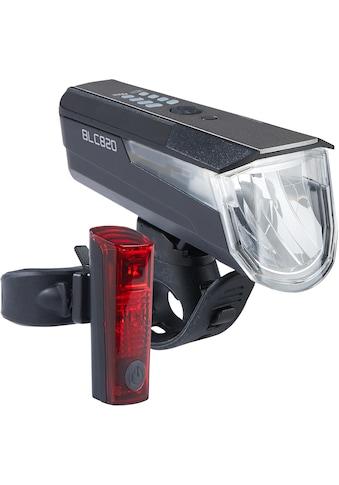 Büchel Fahrradbeleuchtung »BLC 820 + Duo LED«, (Set, 5, Front- und Rücklicht) kaufen