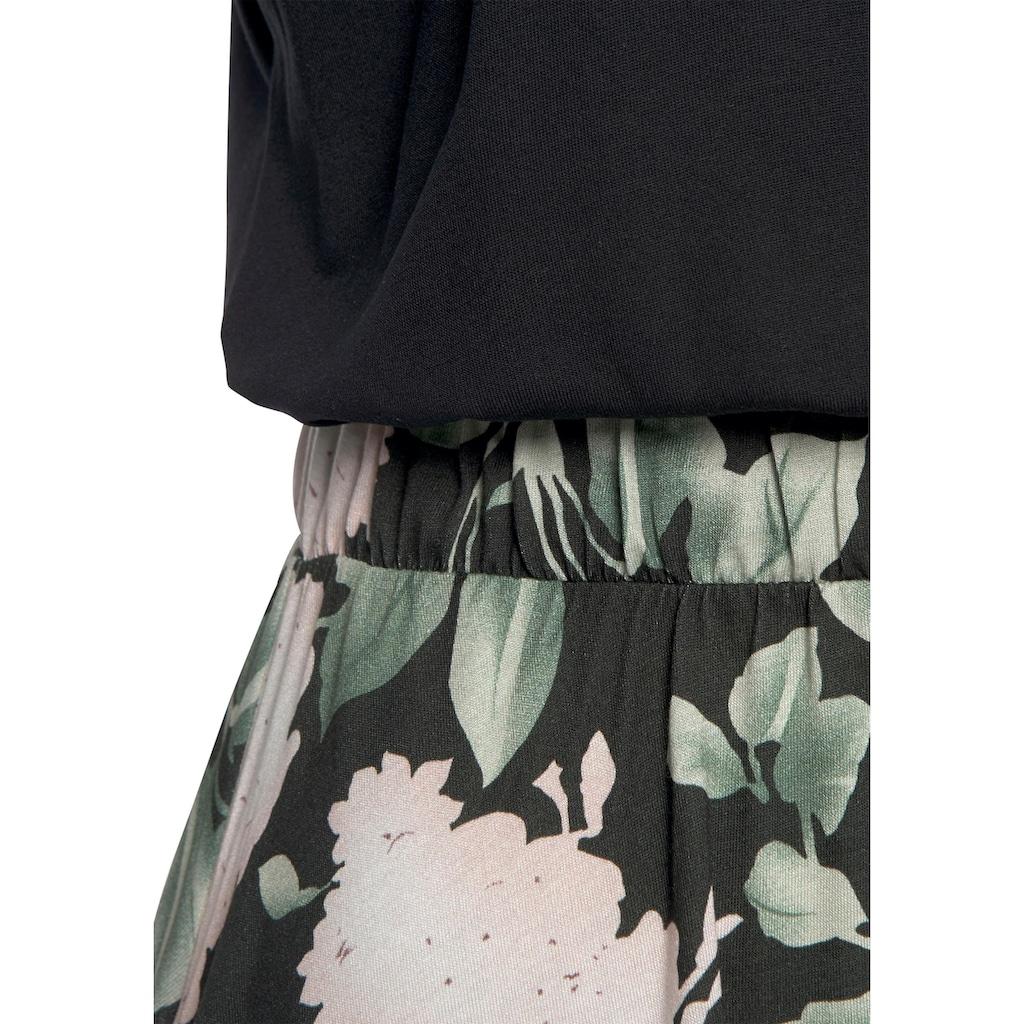 Buffalo Jerseykleid, mit Paperbag-Bund