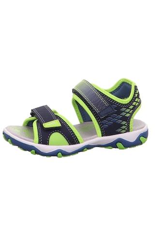 Superfit Sandale »Mike 3.0«, mit kontrastfarbener Paspelierung kaufen