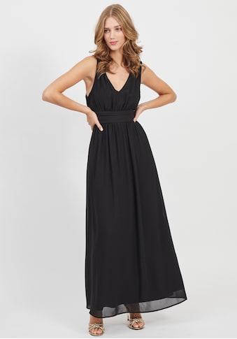 Vila Abendkleid »VIMILINA«, mit breitem Bindeband, Schleife im Rücken kaufen