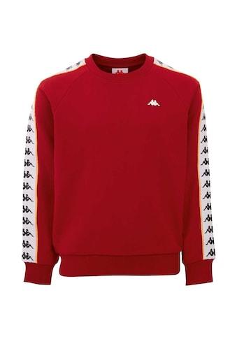 Kappa Sweatshirt »HARRIS«, mit hochwertigem Logowebband an den &Auml;rmeln<br /> kaufen