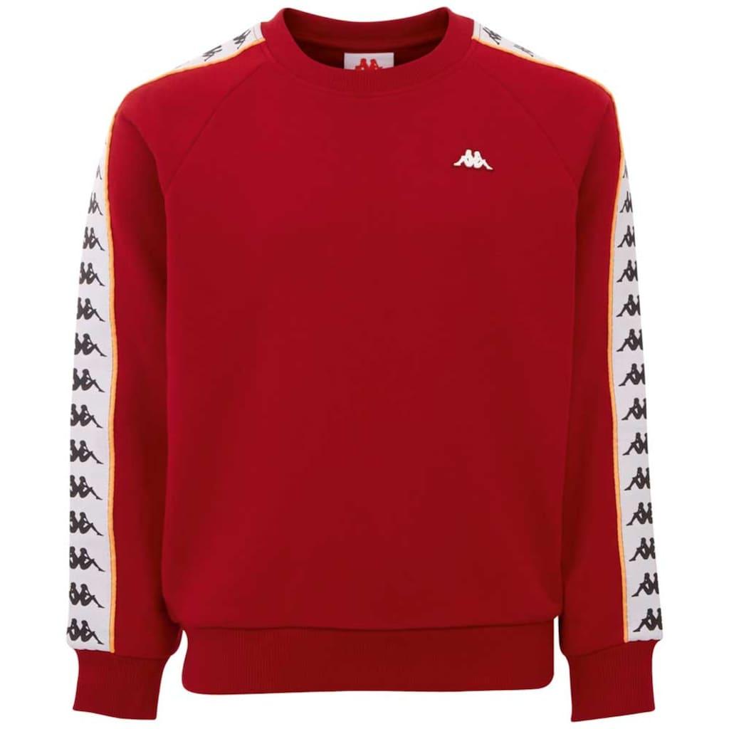 Kappa Sweatshirt »HARRIS«, mit hochwertigem Logowebband an den &Auml;rmeln<br />